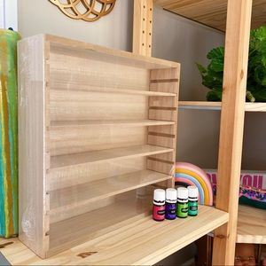 Target | Essential Oil Holder Display Shelf Wood